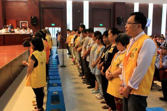 wang丽娟等组织、领dao特大传销活动案